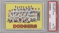 Los Angeles Dodgers Team [PSA8]