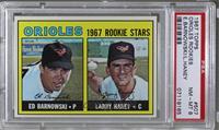 Ed Barnowski, Larry Haney [PSA8NM‑MT]