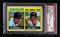 Ed Barnowski, Larry Haney [PSA7NM]