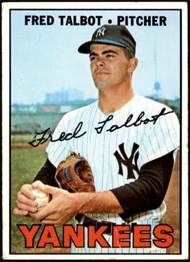 1967 Topps - [Base] #517 - Fred Talbot [GD+]