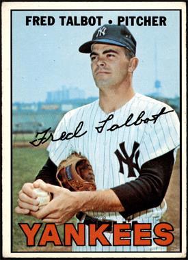 1967 Topps - [Base] #517 - Fred Talbot [VGEX]