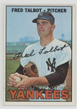 1967 Topps - [Base] #517 - Fred Talbot [PoortoFair]