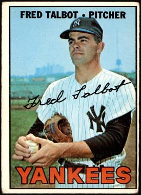 1967 Topps - [Base] #517 - Fred Talbot [GOOD]