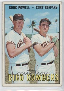1967 Topps - [Base] #521 - Bird Bombers (Boog Powell, Curt Blefary)