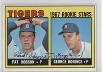 Pat Dobson, George Korince