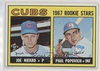 High # - Joe Niekro, Paul Popovich