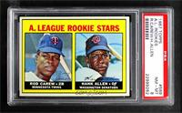 1967 Rookie Stars - Rod Carew, Hank Allen [PSA 8 NM‑MT]