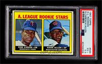 A. League Rookie Stars (Rod Carew, Hank Allen) [PSA 5.5 EX+]