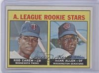 A. League Rookie Stars (Rod Carew, Hank Allen)