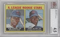 A. League Rookie Stars (Rod Carew, Hank Allen) [BVG 4.5]