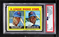 A. League Rookie Stars (Rod Carew, Hank Allen) [PSA 5 EX]