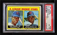A. League Rookie Stars (Rod Carew, Hank Allen) [PSA 6 EX‑MT]