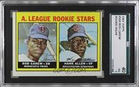 A. League Rookie Stars (Rod Carew, Hank Allen) [SGC40]