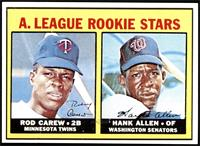 High # - Rod Carew, Hank Allen [NM MT]