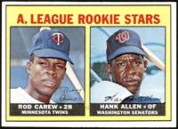 High # - Rod Carew, Hank Allen [EX MT]