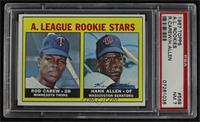 High # - Rod Carew, Hank Allen [PSA 7 NM]