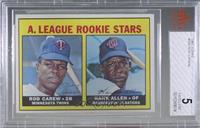 High # - Rod Carew, Hank Allen [BVG5EXCELLENT]