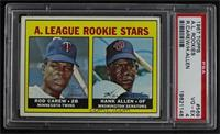 High # - Rod Carew, Hank Allen [PSA 4 VG‑EX]