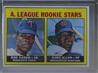 High # - Rod Carew, Hank Allen [NoneIncompleteItem]