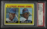 High # - Rod Carew, Hank Allen [PSA8NM‑MT]