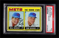 1967 Rookie Stars - Bill Denehy, Tom Seaver [PSA3VG]