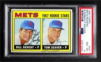 1967 Rookie Stars - Bill Denehy, Tom Seaver [PSA 8 NM‑MT]