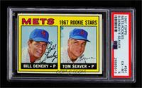 1967 Rookie Stars - Bill Denehy, Tom Seaver [PSA 6 EX‑MT]