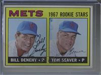 1967 Rookie Stars - Bill Denehy, Tom Seaver [GoodtoVG‑EX]
