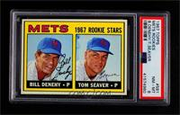 Bill Denehy, Tom Seaver [PSA 8 NM‑MT]