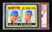 Bill Denehy, Tom Seaver [PSA 5.5 EX+]