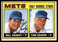 Bill Denehy, Tom Seaver [EX]