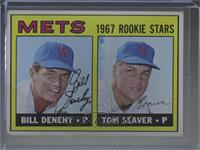 Bill Denehy, Tom Seaver [Good to VG‑EX]