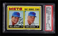 Bill Denehy, Tom Seaver [PSA8NM‑MT]