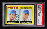 Bill Denehy, Tom Seaver [PSA 5 EX]