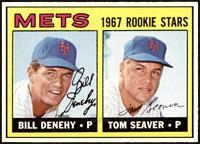 High # - Bill Denehy, Tom Seaver [NM]