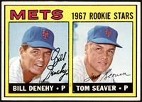 High # - Bill Denehy, Tom Seaver [EX MT+]