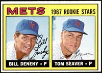 High # - Bill Denehy, Tom Seaver [NM]