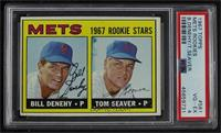 High # - Bill Denehy, Tom Seaver [PSA 4 VG‑EX]