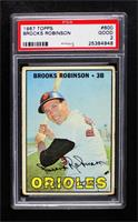 Brooks Robinson [PSA 2 GOOD]
