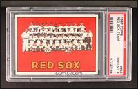 Boston Red Sox Team [PSA8]