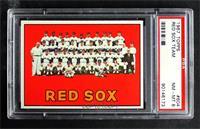 High # - Boston Red Sox Team [PSA8NM‑MT]