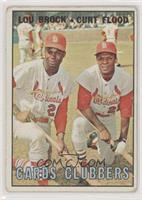 Cards Clubbers (Lou Brock, Curt Flood)