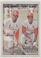 Cards Clubbers (Lou Brock, Curt Flood)