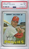 Johnny Callison [PSA8NM‑MT]
