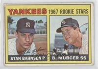 1967 Rookie Stars (Stan Bahnsen, Bobby Murcer) [GoodtoVG‑EX]
