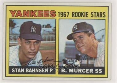 1967 Topps - [Base] #93 - 1967 Rookie Stars - Stan Bahnsen, Bobby Murcer