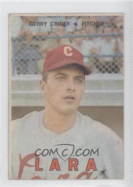 1967 Topps Venezuelan - [Base] #126 - Gerry Crider