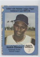 Roberto Clemente (Picture Back) [Poor to Fair]