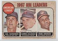 RBI Leaders (Carl Yastrzemski, Harmon Killebrew, Frank Robinson) [Poor to&…