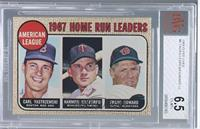 Carl Yastrzemski, Harmon Killebrew, Frank Howard [BVG 6.5]